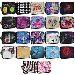 "AMZER 7.75"" Trendy Case Zip Bag For Tablet Fire HD Zenpad Ne"