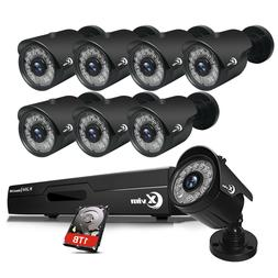 XVIM 1080P HD HDMI DVR 2MP Outdoor Night Vision CCTV Securit