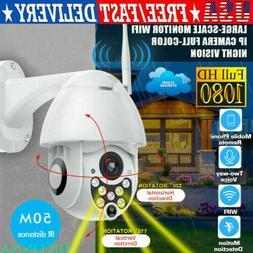 1080P HD PTZ Outdoor Speed Dome IP Pan Tilt 4X Zoom IR Netwo