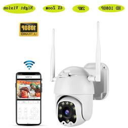 1080P HD Wifi Wired Outdoor Cameras Intercom Night Vision Wa