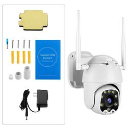 1080P HD Wifi Wired Outdoor Cameras Pan/Tilt Remote Control