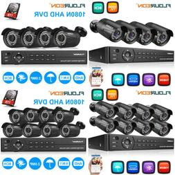 1080P HDMI HD 8CH AHD DVR 3000TVL Outdoor CCTV Home Security