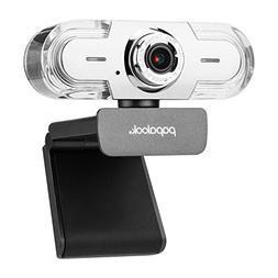 PAPALOOK 1080P HD Webcam, USB PC Computer Camera PA452 PRO W
