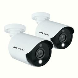 1080p wired motion activated add on security