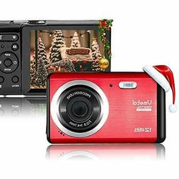 12 Point & Shoot Digital Cameras Mega Pixels 3 Inch LCD Rech
