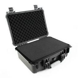 "16"" Hard Shell Weatherproof Case For Guns DSLR HD Camera Len"
