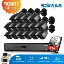 SANNCE 16CH 1080P HDMI 5in1 HD DVR 1500TVL IR CCTV Security