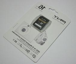 PNY 16G SDHC SD card for Pentax Optio RZ 18 WG-1 GPS VS20 WG