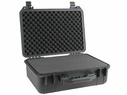 "18"" Weatherproof Hard Shell Case For DSLR HD Camera with Pel"