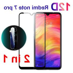 2 in 1 Redmi Note 7 Tempered Glass on the for Xiaomi redmi n
