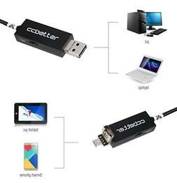 CCbetter 2 in 1 USB Endoscope MP 720p HD Camera 8.5mm IP67 W
