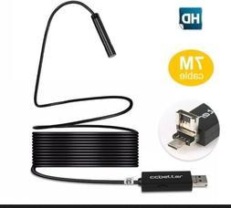 2 In 1 USB Endoscope MP 720p HD Camera 8.5mm IP67 Waterproof
