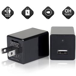 2018 Hidden Spy Camera Phone Charger Adapter - 1080P HD USB