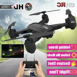 2019 2.4G 1080P Foldable RC Drone HD Camera Selfie WIFI FPV