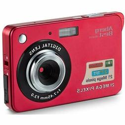 21 Point & Shoot Digital Cameras Mega Pixels 2.7&quot LCD Re