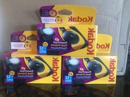 3 New KODAK HD 800 Film POWER FLASH DISPOSABLE CAMERAS 27 +1