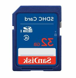 SanDisk 32gb SD Card SDHC HD Memory Card Class 4 32 GB for D