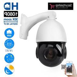 360 degree PTZ IP Camera 2MP Super HD Pan/Tilt 30x Zoom Spee