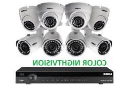 LOREX 3TB DIGITAL POE IP NVR Security Camera System Night Vi