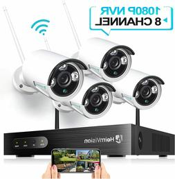4 Cameras Security System 24/7 Motion Detection IPGG Weather