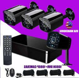 4 CH DVR 4K CCTV Recorder HD AHD TVI HDMI P2P IP HOME SECURI