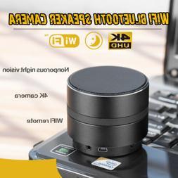 4K Hidden Camera 1080P WIFI HD Cam Bluetooth Speaker Wireles
