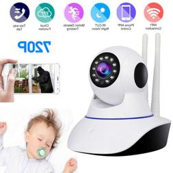 720P Wireless IP Camera Home Security System Camera Night Vi
