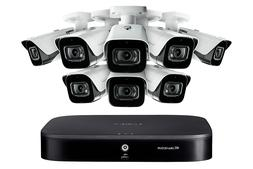 4K 8MP HD 8 Channel Security System with 8 4K Outdoor Metal