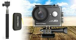 4K Action Camera WiFi Camcorder HD Camera Waterproof Accesso