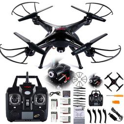 4K Folding Drone RC Quadcopter Wifi w/ HD Camera Gesture Sel