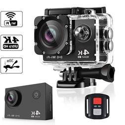 BAPASCO 4K Ultra <font><b>HD</b></font> WIFI gopro hero 4 St