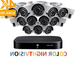 LOREX 4K Ultra HD 16-Channel Security System with Sixteen 4K