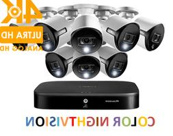 LOREX 4K Ultra HD 8-Channel Security System with 8 Active De