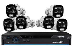 4K Ultra HD IP Camera System with 6 Active Deterrence Securi