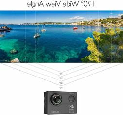 4K WiFi Sports Action Camera Ultra HD Waterproof DV Camcorde