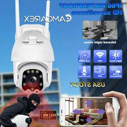 4X Zoom 1080P HD Wireless Wifi Security Camera Outdoor Surve