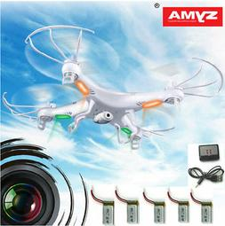 5 Batteries Syma X5C-1 RC Quadcopter Drone Explorers 6-Axis