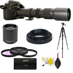 500mm 1000mm HD TELEPHOTO ZOOM LENS FOR NIKON DSLR CAMERAS D
