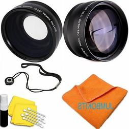 55MM PRO HD FISHEYE +MACRO + 2.2X Telephoto Lens for SONY AL