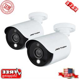 Night Owl 5MP HD Wired Bullet Camera with Built-in Spotlight