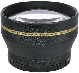 67MM 2.2X TELEPHOTO ZOOM LENS FOR CANON EOS REBEL DIGITAL CA