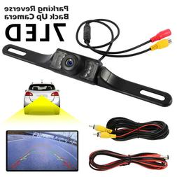 7led Car Backup Rear View Reverse Parking HD Camera Night Vi