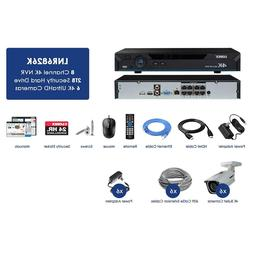 Lorex 8 Channel 4K IP Security System w/ 6 4K Ultra HD Camer