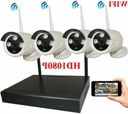8-Channel HD 1080P Wireless Network/IP Security Camera Syste