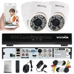 800TVL 48 IR 3.6mm Dome CCTV IR Cut Security Camera Indoor 1