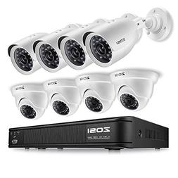 8ch ahd tvi security system