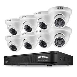ZOSI 8CH CCTV System Kit 960H Recording Home Security Digita