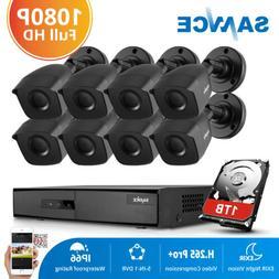 SANNCE 8CH 1080N 5IN1 DVR 1500TVL HD CCTV IR-Cut CCTV Securi