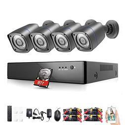Rraycom 8CH Security Camera System HD-TVI 1080P DVR Recorder