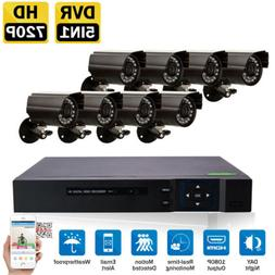 8CHl 5in1 1080N DVR Outdoor IR-CUT HD Cameras PlugPlay CCTV